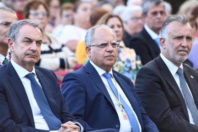 Zapatero, Cuberlo y Torres en las Jornadas Colombinas
