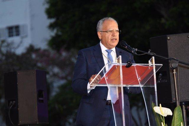 El presidente del Cabildo de La Gomera
