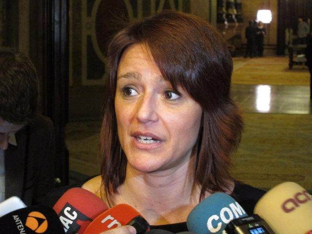Laia Bonet, tinent d'alcaldia de Barcelona de l'Agenda 2030
