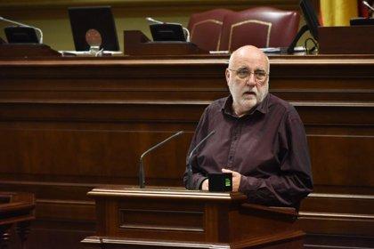 """Marrero (Podemos) pregunta al Gobierno de Canarias si la """"nefasta"""" gestión de CC condicionará la acción del Ejecutivo"""