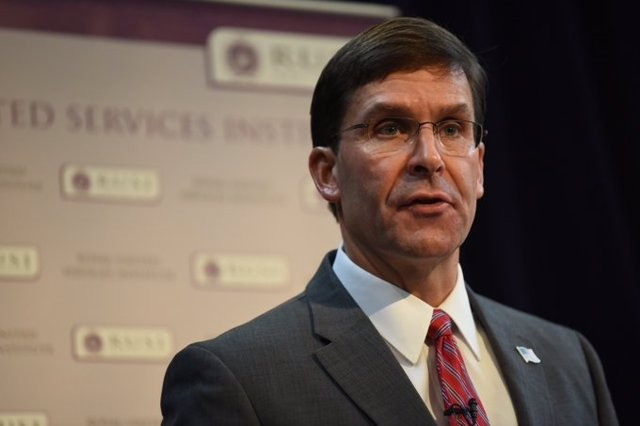 El secretari de Defensa dels Estats Units, Mark Esper.
