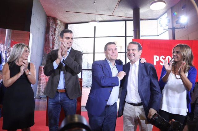 Consejo Municipal del PSOE en Toledo.