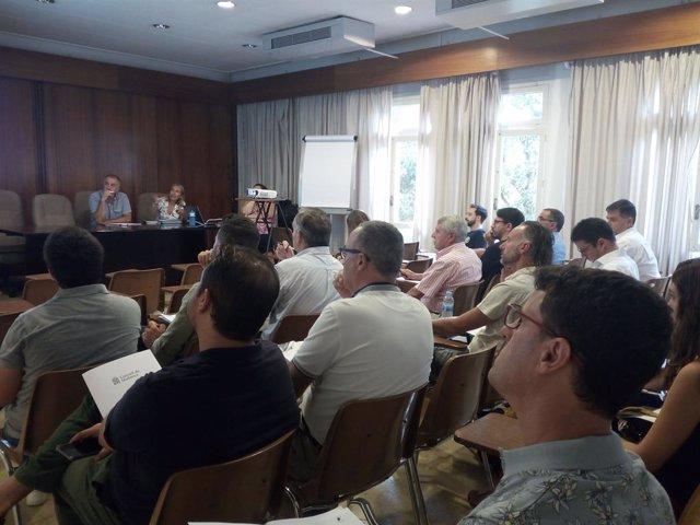 Reunió amb els consistoris de Mallorca per fer difusió del Pacte pel Clima i la Energia.