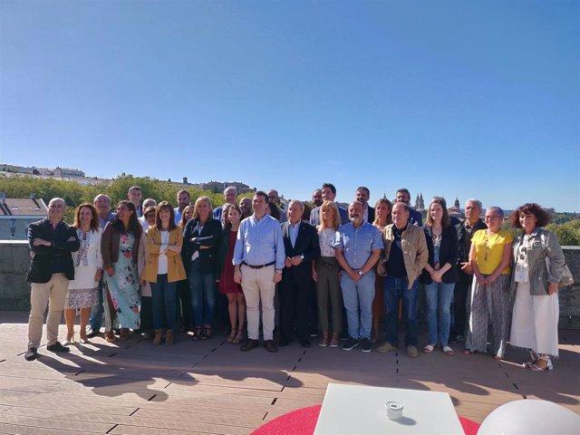 Primera Comisión Ejecutiva Nacional Gallega del PSdeG del curso político 2019/2020