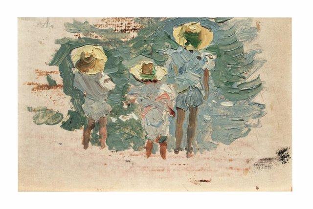 Óleo de Joaquín Sorolla dentro de la muestra prevista para este otoño en el Museo de Bellas Artes de Bilbao.