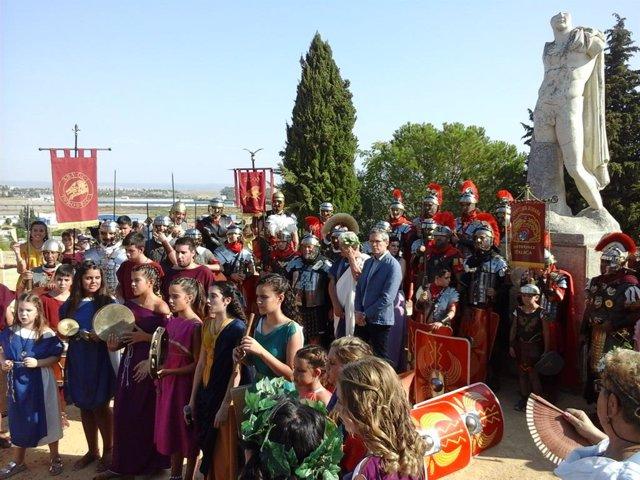 II Día de la Romanidad en Itálica