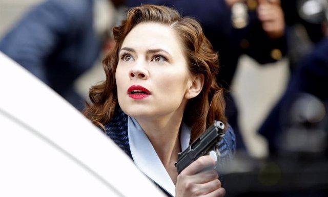Hayley Atwell en Agent Carter