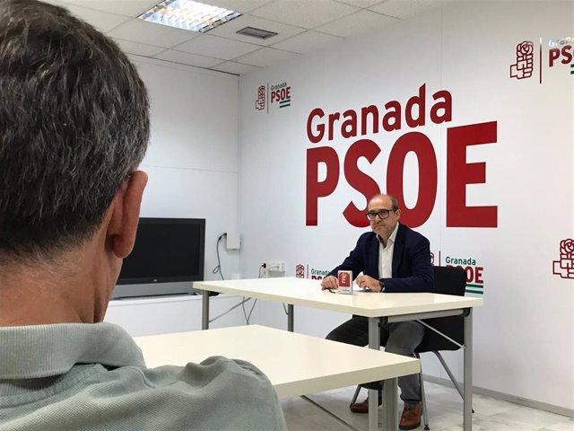 El portavoz del PSOE en Granada capital, José María Corpas, en una imagen de archivo