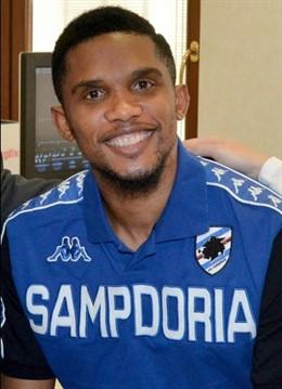 Samuel Eto'o, nuevo jugador de la Sampdoria