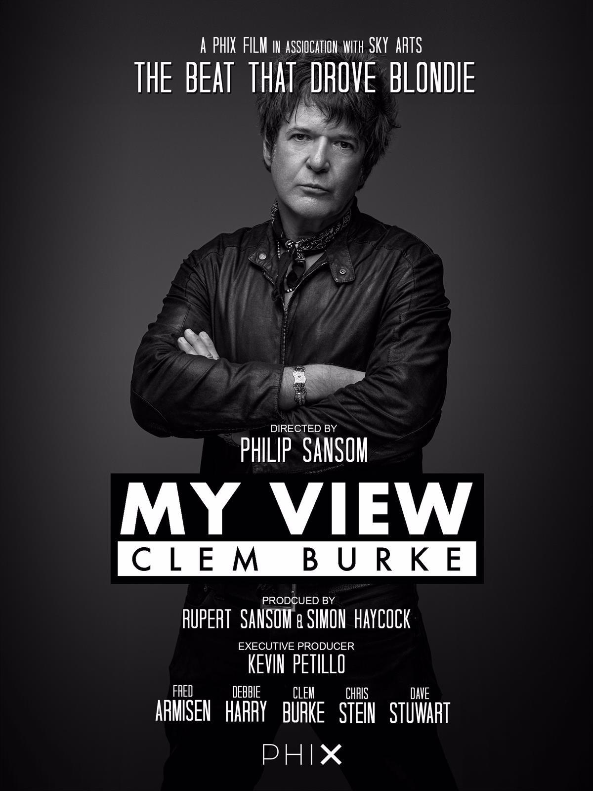 El batería y miembro fundador de Blondie, Clem Burke, presentará en junio de 2020 en Palma el documental 'My view'