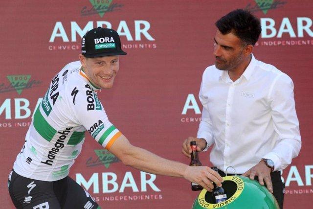 El ciclista irlandés Sam Bennett (Bora-Hansgrohe).