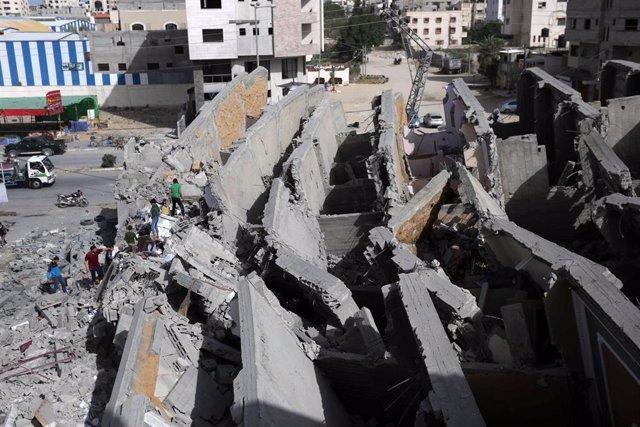 Ataques israelíes sobre la Franja de Gaza