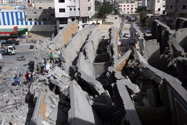 O.Próximo.- Israel ataca objetivos de Hamás en Gaza tras interceptar un dron lan