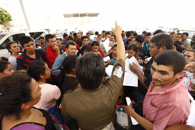 Solicitantes de asilo en en Tamaulipas