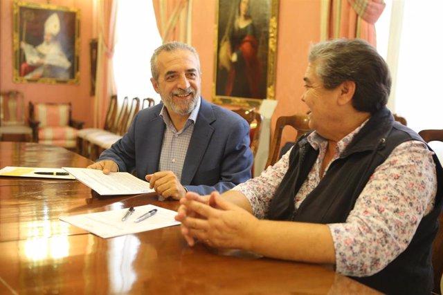 El delegado de Bienestar Social y Empleo y Planes Integrales de Transformación Social, Juan Manuel Flores