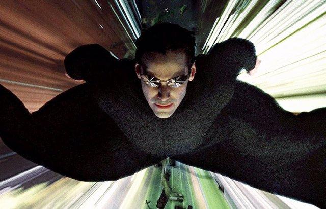 Keanu Reeves en la saga Matrix
