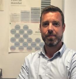 El jurista Michael Donaldson Carbó, nou comissionat d'inovación digital, administració electrònica i bon govern de l'Ajuntament de Barcelona.