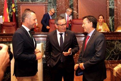 Segado(PP), Conesa (PSOE) y Molina(Cs) defienden este martes en el Congreso la eliminación de los aforamientos en Murcia