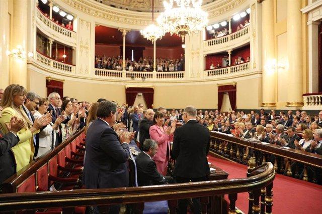 Pleno de constitución del Senado en la XIII Legislatura