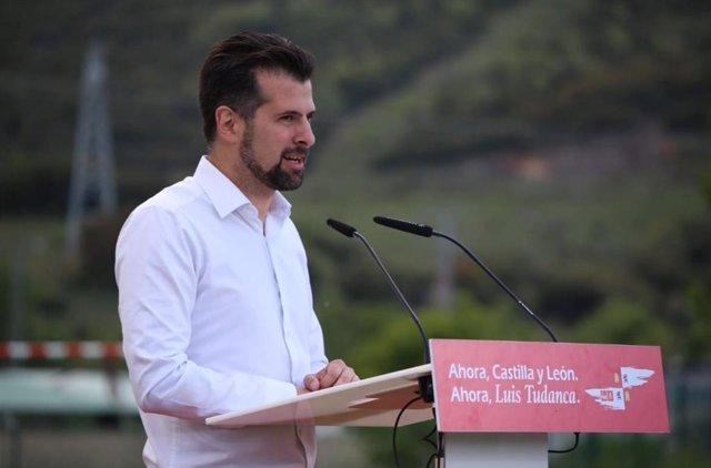 Luis Tudanca. Foto de Archivo.