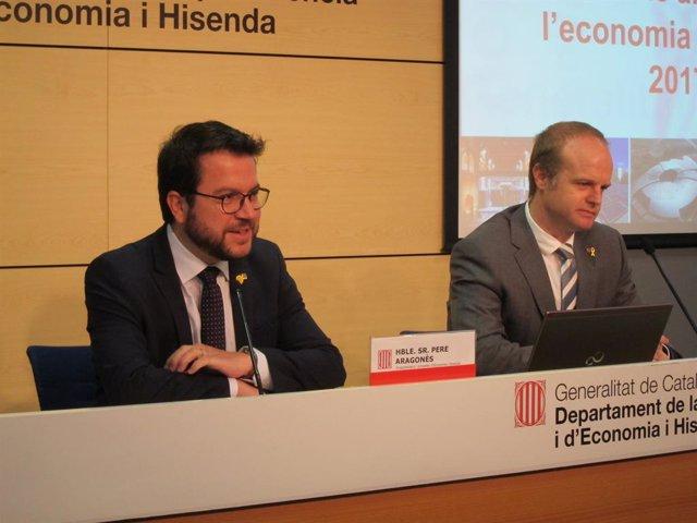 Pere Aragons i Albert Castellanos