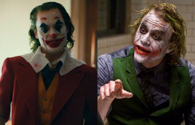 El Joker de Joaquin Phoenix y el de Heath Ledger