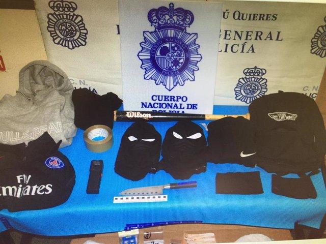 Dos detenidos por robar droga en una vivienda de la capital aragonesa.