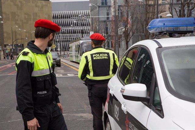 Agentes de la Policía Municipal de Bilbao