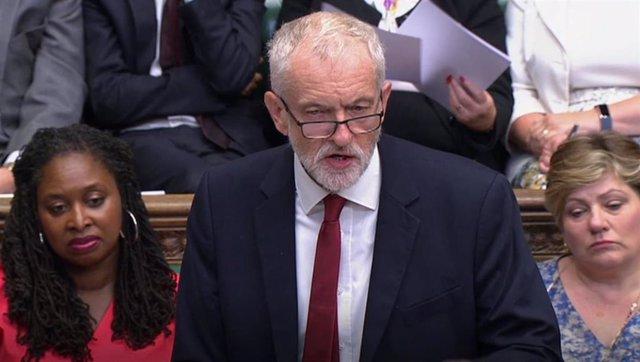 El líder del Partido Laborista de Reino Unido, Jeremy Corbyn