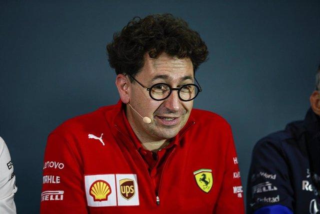 BINOTTO Mattia (ita), Team Principal & Technical Director of the Scuderia Ferrari, portrait during 2019 Formula 1 FIA world championship, Italy Grand Prix, at Monza from september 5 to 9 - Photo Xavi Bonilla / DPPI