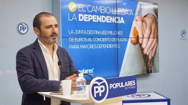 El vicesecretario de Sociedad de Bienestar del PP-A, José Ramón Carmona.