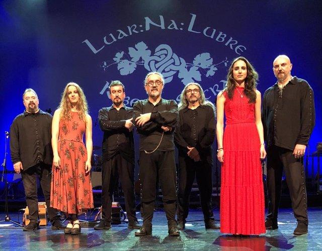 El grupo gallego Luar na Lubre, que actuará este lunes en el programa Plaza Acústica de Salamanca.