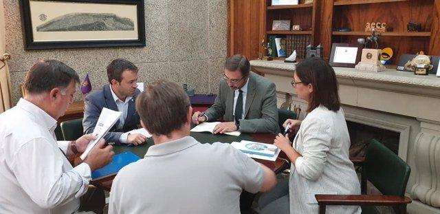 Reunión entre el Ayuntamiento de Jaén y la UJA