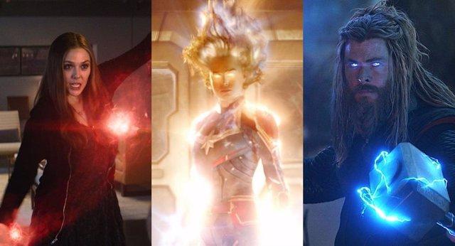 Los personajes más poderosos de Marvel