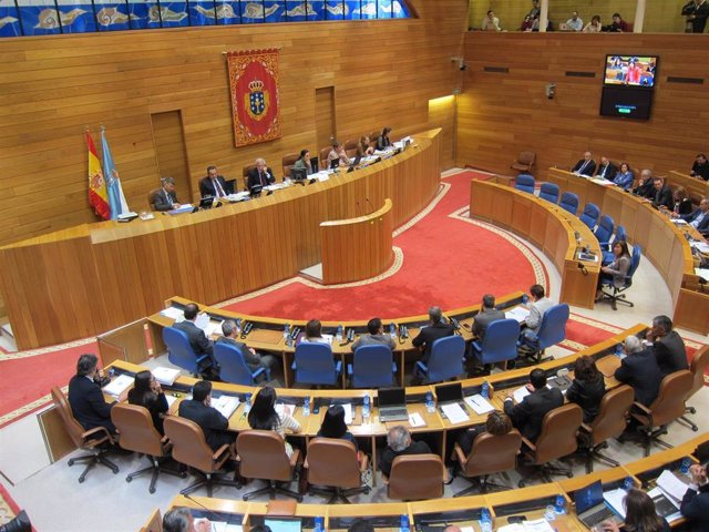 Hemiciclo gallego IX Legislatura
