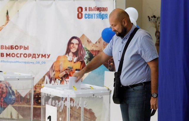 Elecciones locales en Moscú, Rusia