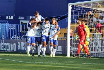El Zaragoza se pone segundo tras ganar en Santo Domingo