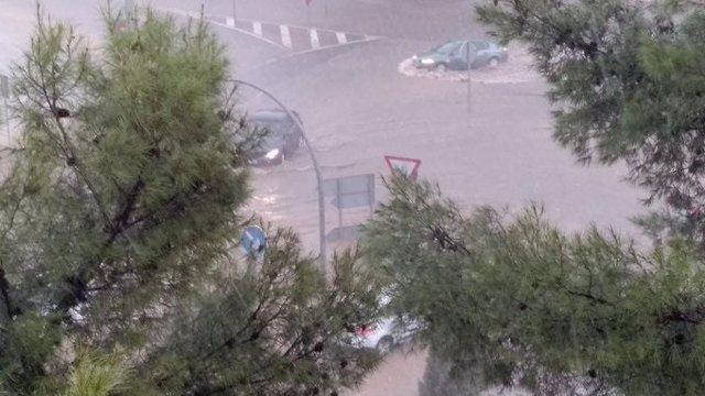 Tormenta en Ciudad Real.