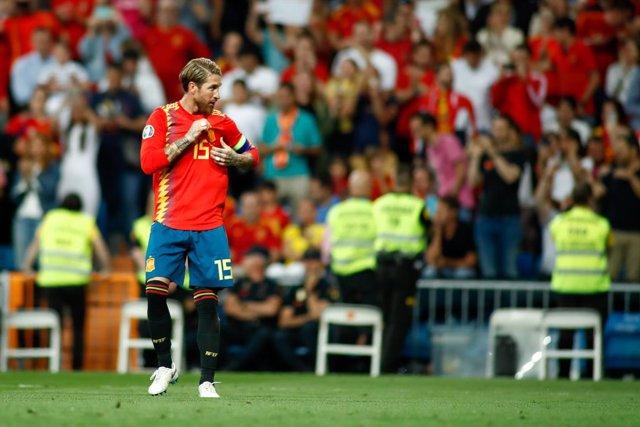 Fútbol/Selección.- Sergio Ramos iguala a Iker Casillas como el internacional esp