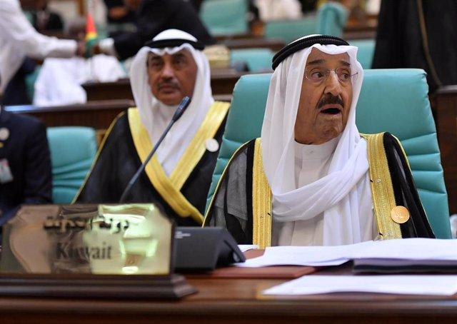 El emir de Kuwait, el jeque Sabá al Ahmad al Sabá