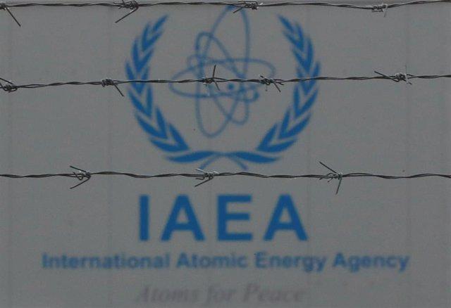 Logotipo de la Agencia Internacional de la Energía Atómica (AIEA)