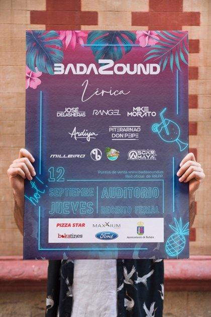 El Festival Badasound se celebra el próximo jueves en Badajoz con artistas como Mike Morato o Lérica