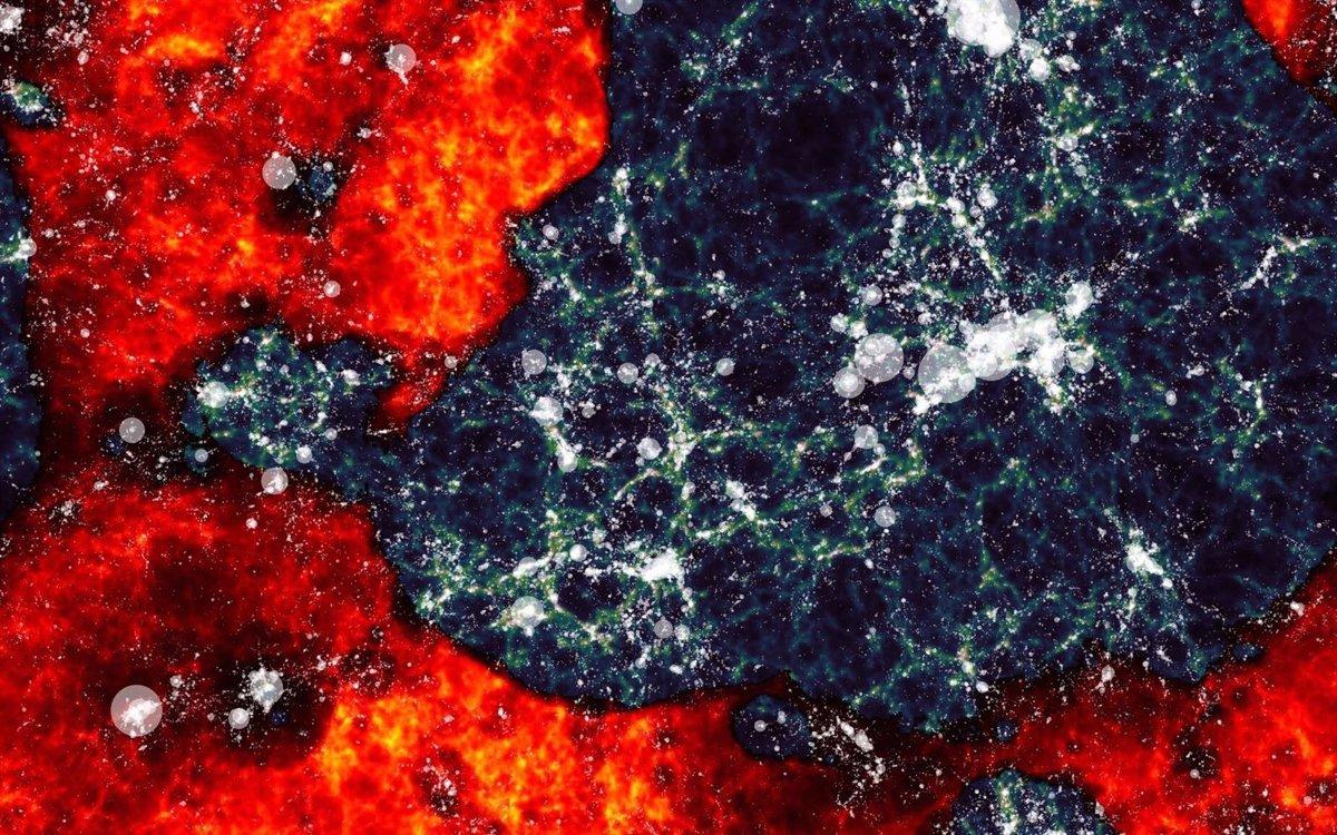 Resultado de imagen para Astrónomos atisban la señal que cerró la 'era oscura' tras el Big Bang