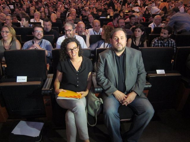 Oriol Junqueras i Marta Rovira (Arxiu)
