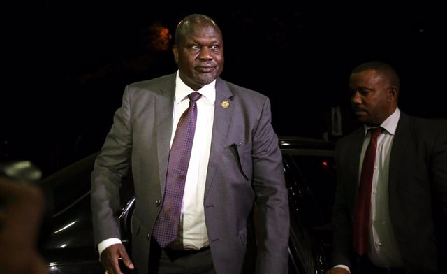 El líder rebelde sursudanés Riek Machar