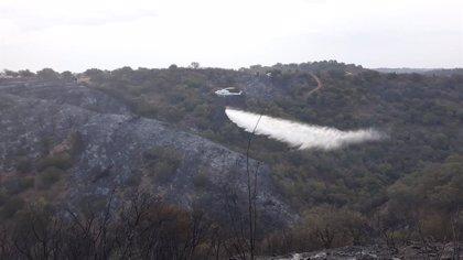 """El entorno afectado por el incendio de El Ronquillo (Sevilla) es """"de alto valor natural"""", según el alcalde"""
