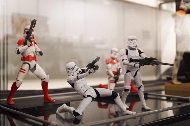 Figuras de Star Wars que se podrán ver en la 'Starcon Exhibition Vallaodlid 2019', del 11 al 15 de septiembre en la Feria de Muestras.