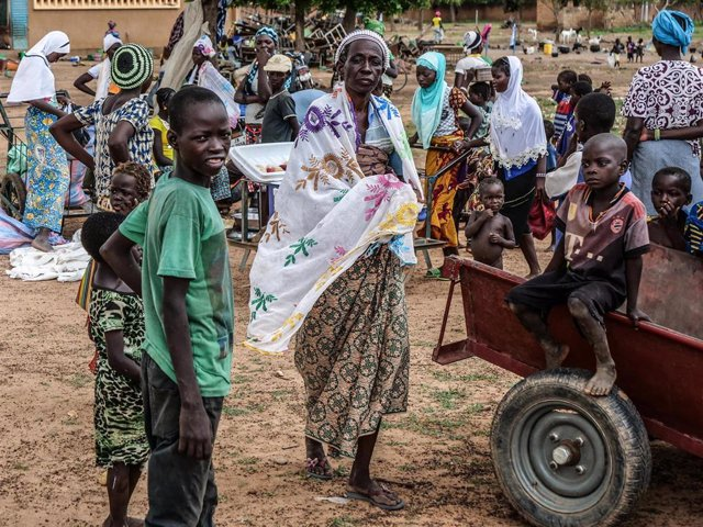 Desplazados por la violencia en Burkina Faso