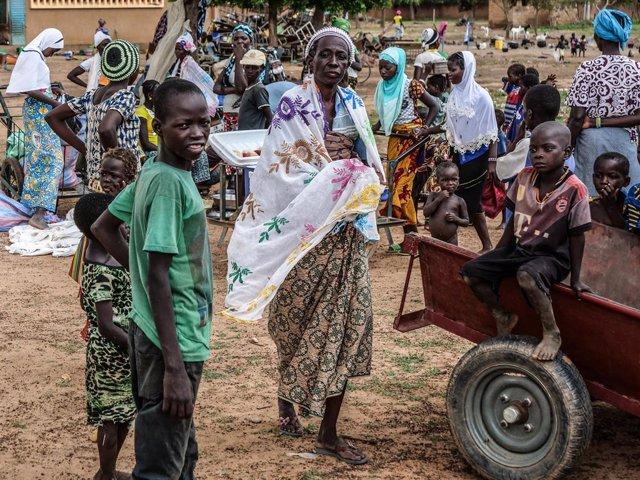 Burkina Faso.- La violencia en Burkina Faso deja a medio millón de personas sin