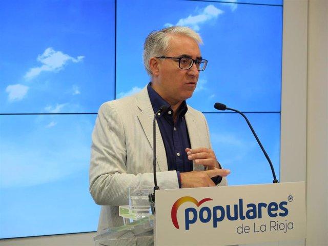 El portavoz del Grupo Parlamentario del PP, Jesús Ángel Garrido, analiza educación de 0 a 3 años